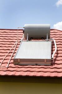 installatie zonneboiler